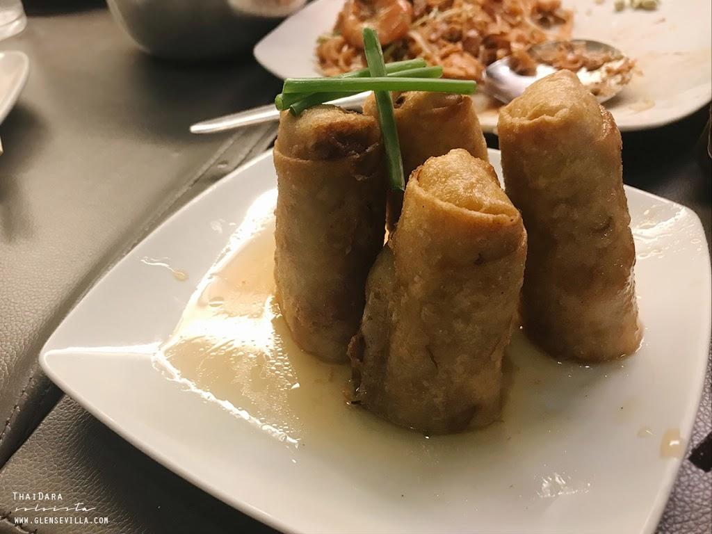 thaidara spring rolls